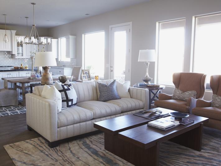 Open Concept Living Room Design Ideas - open concept living room