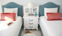 Turquoise Lamp - Transitional - bedroom - Tracery Interiors