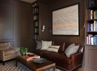 Paneled Den - Traditional - den/library/office - Andrew ...