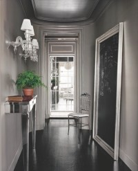 Wall Mounted Console Table - Contemporary - entrance/foyer ...