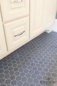 Gray Tile Bathroom Floor Design Ideas