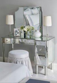 Mirrored Vanity - Traditional - bedroom - Sandra Nunnerley