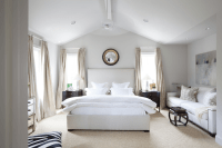 Vaulted Ceiling Bedroom - Transitional - bedroom - Ashley ...