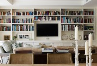 Living Room Bookcase Design Ideas