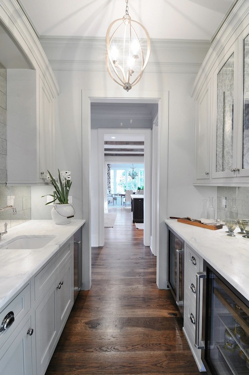 Over The Sink Lighting Bella Luna Chandelier - Transitional - Kitchen - Insidesign