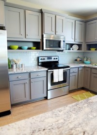 Gray Kitchen Cabinets - Contemporary - kitchen - Utah ...