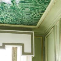 Painted Border Ceiling Design Ideas