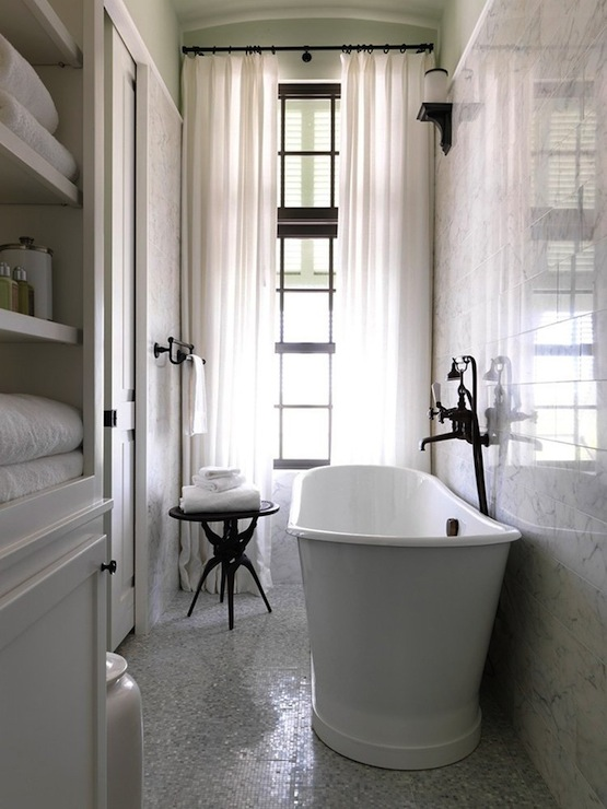 Long And Narrow Bathroom Design Ideas - narrow bathroom ideas