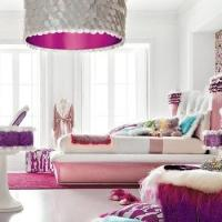 Girly Living Room Design Ideas