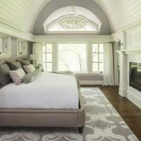 Mirror Nightstands - Cottage - bedroom - O and D Interiors