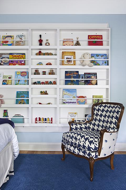 Kids Bookcase Contemporary Boy39s Room Mona Ross