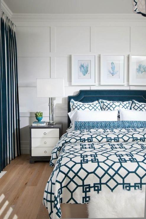 monogram over bed
