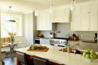 Geometric Backsplash - Contemporary - kitchen - Artistic ...