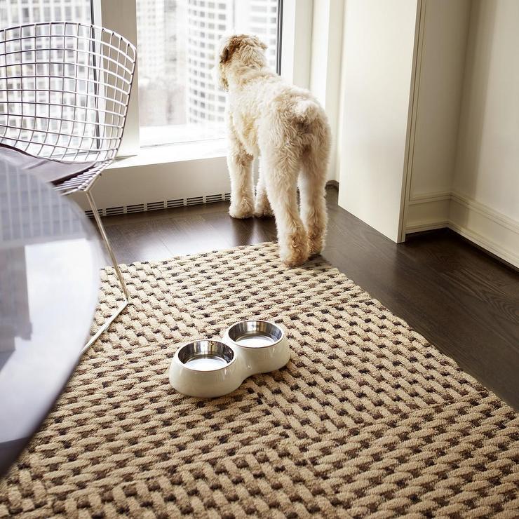 Black And White Wallpaper Living Room Weave A Story Tan Carpet Tiles