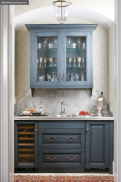 Long Cabinet Pulls Gray Paneled Fridge Design Ideas