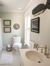 Edgecomb Gray - Traditional - bathroom - Benjamin Moore ...