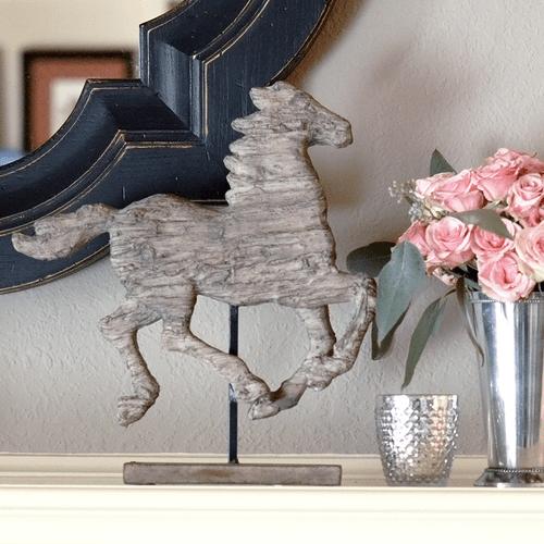 Black Keys Wallpaper Wooden Horse Statue