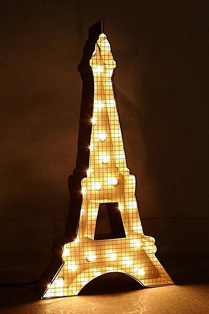 Girl Home Screen Wallpaper Eiffel Tower Marquee Light