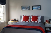 White And Red Bedding Design Ideas