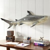 Shark Wall Art - shark wall decals  etsy with shark wall ...