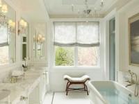 Bathroom Tray Ceiling - Transitional - bathroom - Burns ...