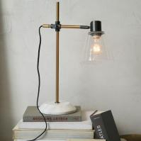 Factory Brass Task Lamp