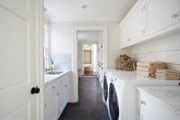 Galley Laundry Room - Transitional - laundry room - TR ...