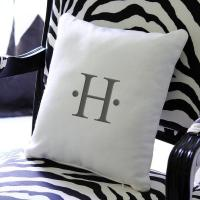 Personalized Initial Throw Pillow - Overstock.com