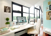 Desk In Front Of Window Design Ideas