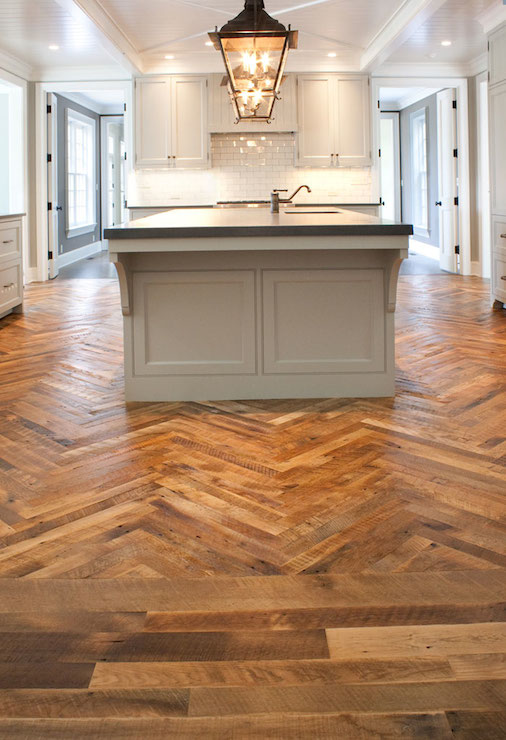 Tile To Hardwood Transition Dark Cabinets With Light Countertops Design Ideas