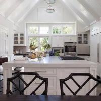 Kitchen Cathedral Ceiling Design Ideas