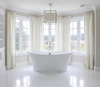 Bay Windows Bathroom - Traditional - bathroom - Brooke ...