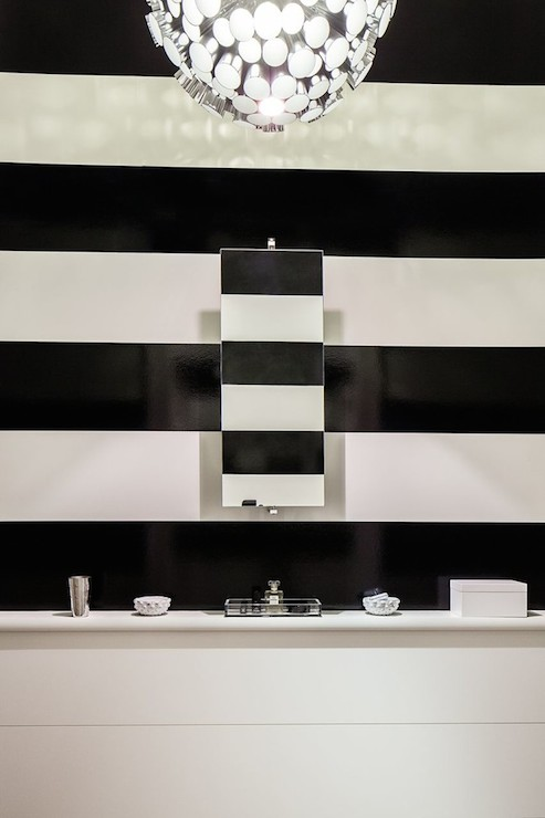 Black And White Marble Wallpaper Stripe Design Ideas