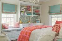 Kids Window Seat - Traditional - girl's room - Nest Studio