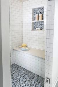 Penny Shower Floor - Transitional - bathroom - Casa Verde ...