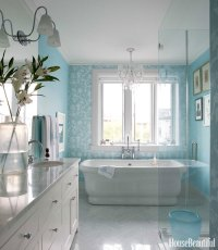 Turquoise Paint Colors - Transitional - bathroom - Sherwin ...