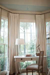 Bay Window Desk - Traditional - bedroom - Summer House Style