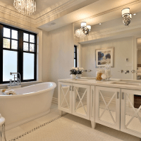Tray Ceiling Bathroom Design Ideas