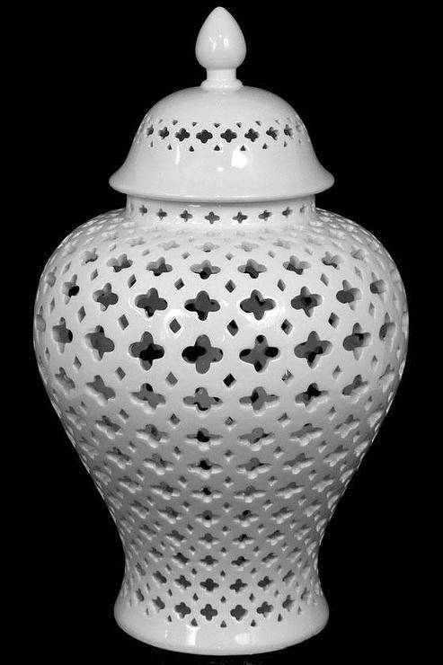 Black And White Wallpaper Living Room Carthage White Pierced Lantern