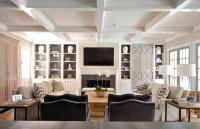 Fireplace Built Ins - Transitional - living room - Munger ...