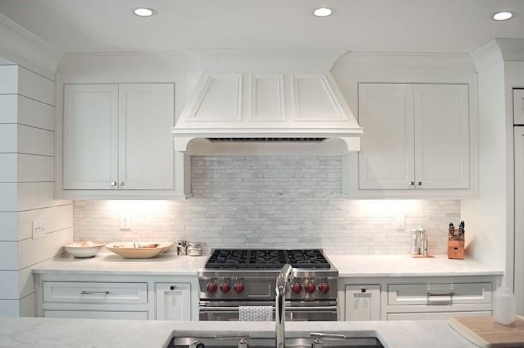 Linear backsplash tiles design decor photos pictures