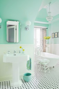 Mint Green Paint Colors - Vintage - bathroom - Benjamin ...