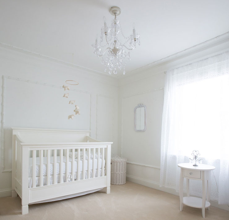 Wallpaper Ideas For Baby Girl Nursery Behr Polar Bear White Design Ideas