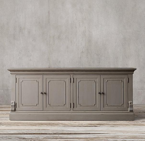 Sideboard Holz Grau St James Grey Wood Sideboard