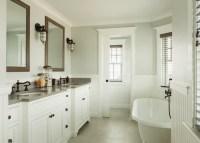 Beadboard Wainscoting - Cottage - bathroom - JS Interiors