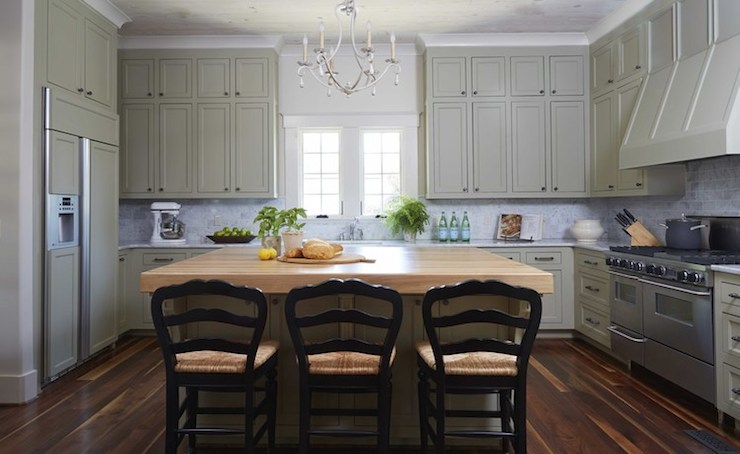 Girl And Marble Wallpaper Green Gray Kitchen Cabinets Country Kitchen