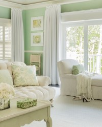 84+ Mint Green Walls Living Room Ideas - Fresh And Pastel ...