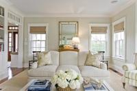 Light Jhaki Paint Colors - Cottage - Living Room ...
