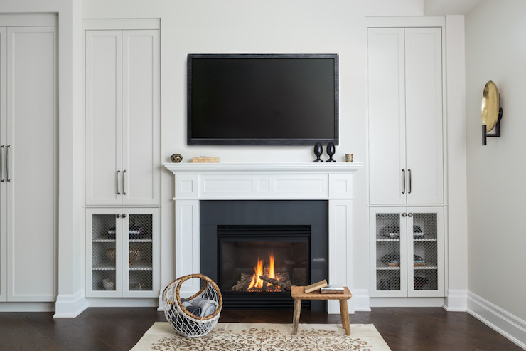 Fireplace Built In Cabinets Design Ideas