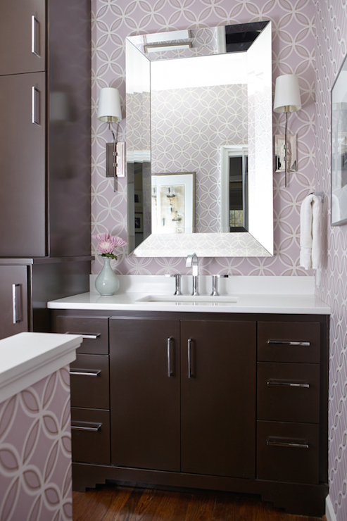 Hudson Lighting Wall Sconces Silver And Brown Bathroom Color Scheme - Transitional